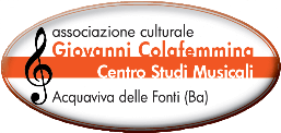 Giovanni Colafemmina Centro Studi Musicali